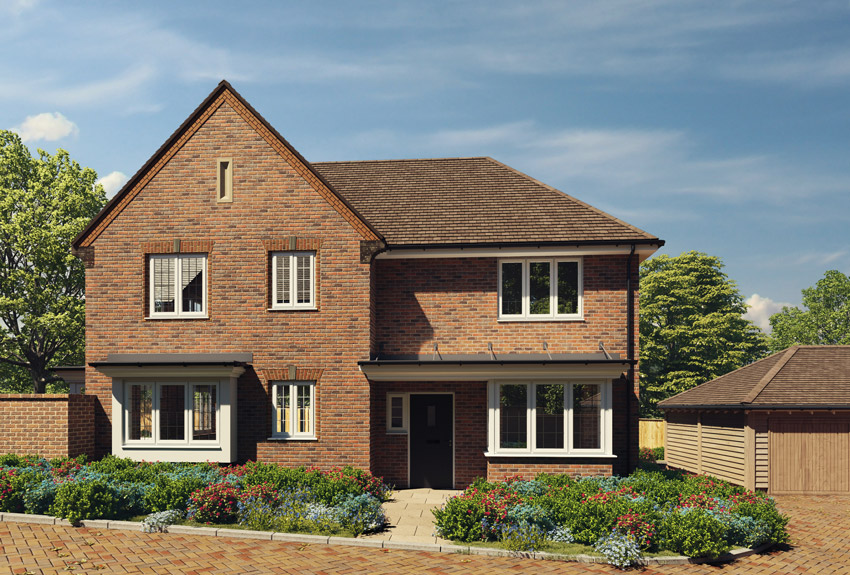 Oaklands Chase - Worth. New luxury property development